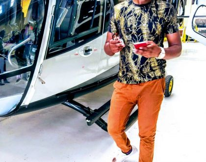 Ringtone reveals where he got the Ksh 20 million to purchase an helicopter