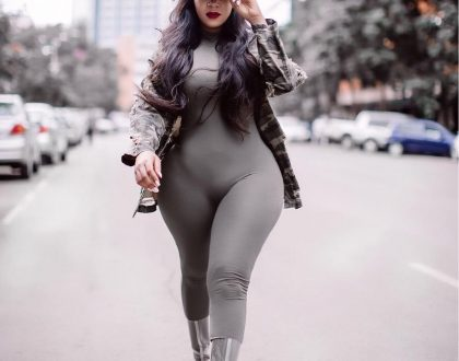 Vera Sidika unveils her young 'mzungu' boyfriend that will leave many choking with envy (Photos)
