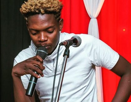Lady exposes Fred Omondi who is on the run after failing to pay his bill at popular night club (details)