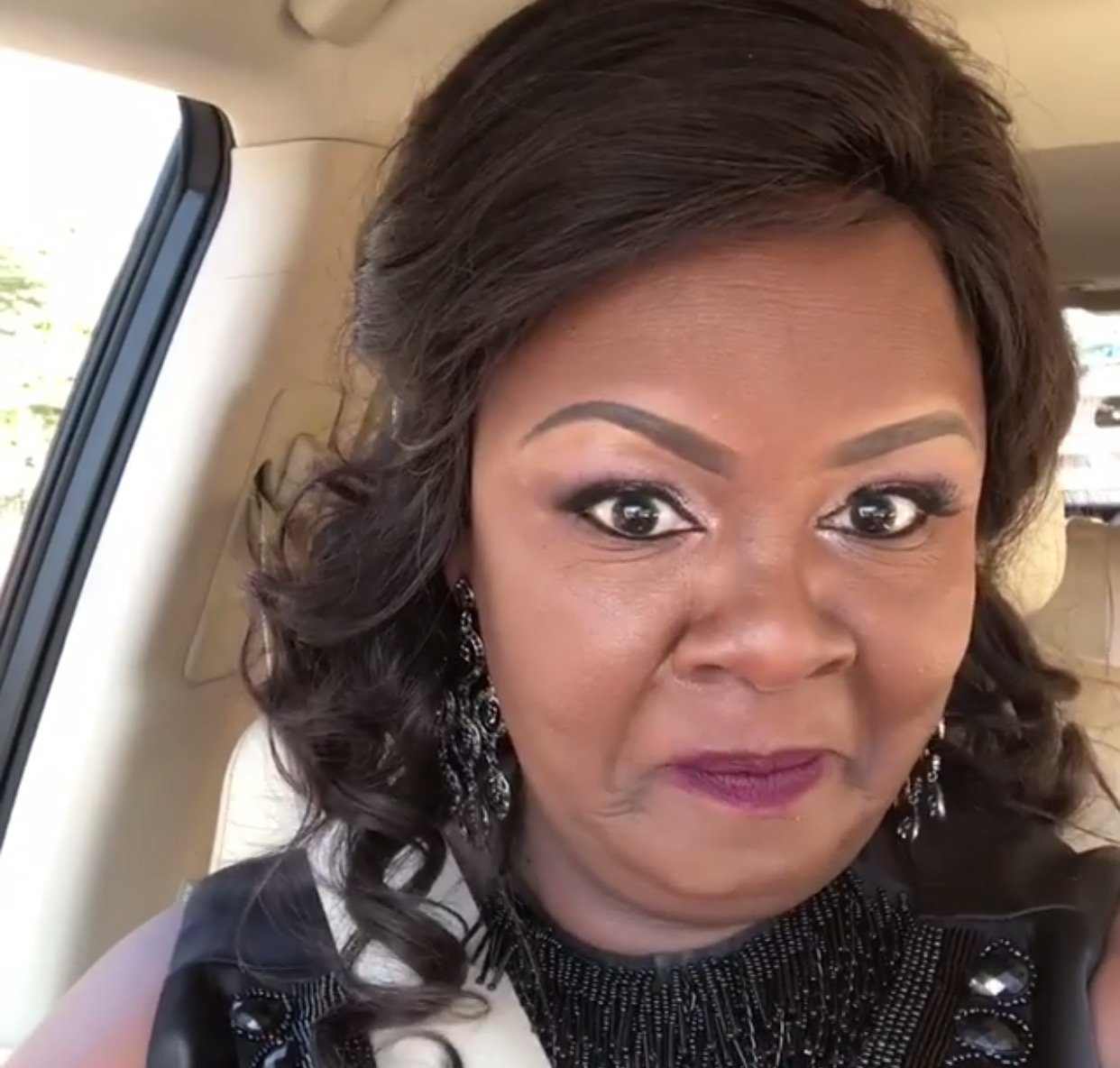 This is why Reverend Kathy Kiuna's makeup has become a topic of discussion
