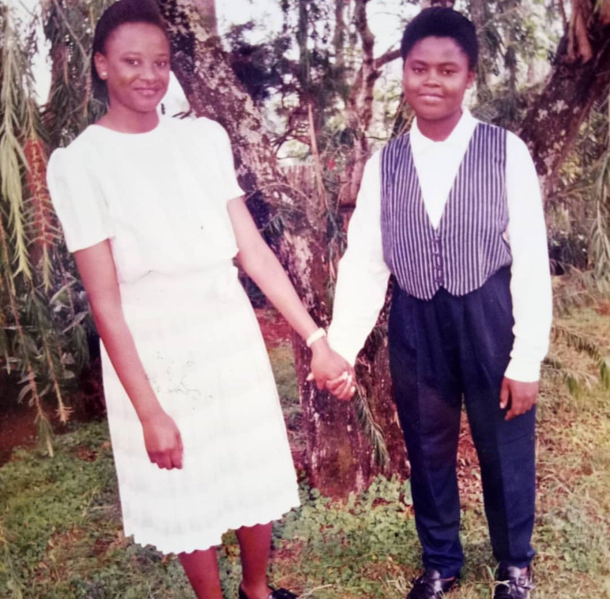 Photos of Kanze Dena back in High school are proof enough that no situation in life is permanent!