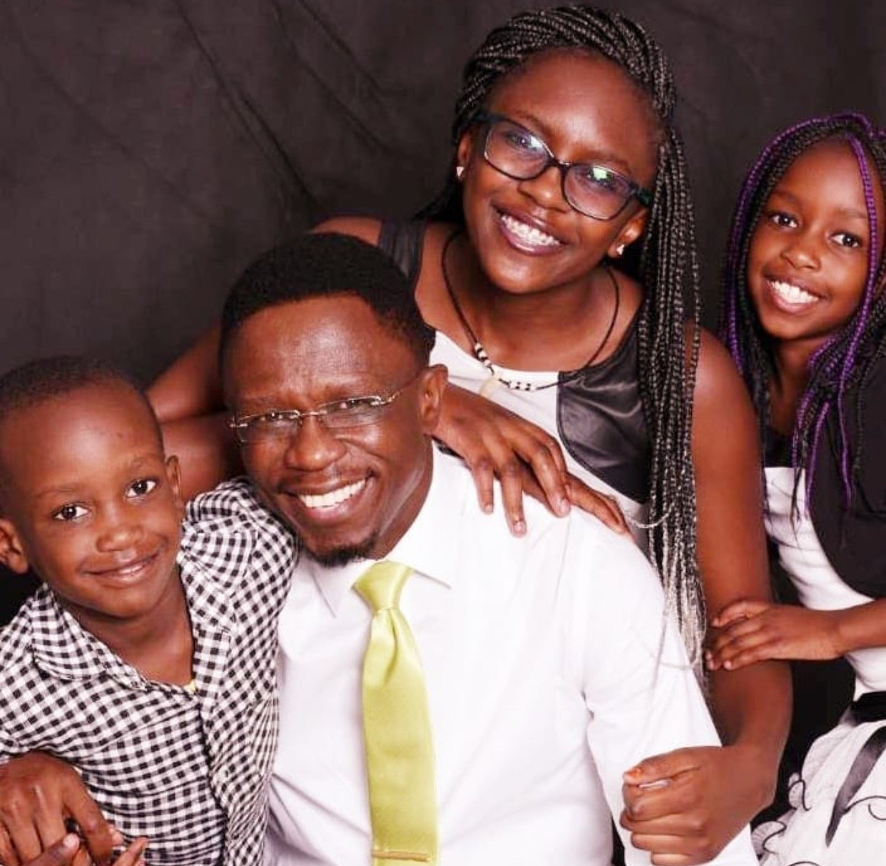 Daddy goals! Adorable photos of Ababu Namwamba spending quality time with his kids