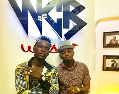 Young boss! Diamond Platnumz reaction after seeing Willy Paul's latest move