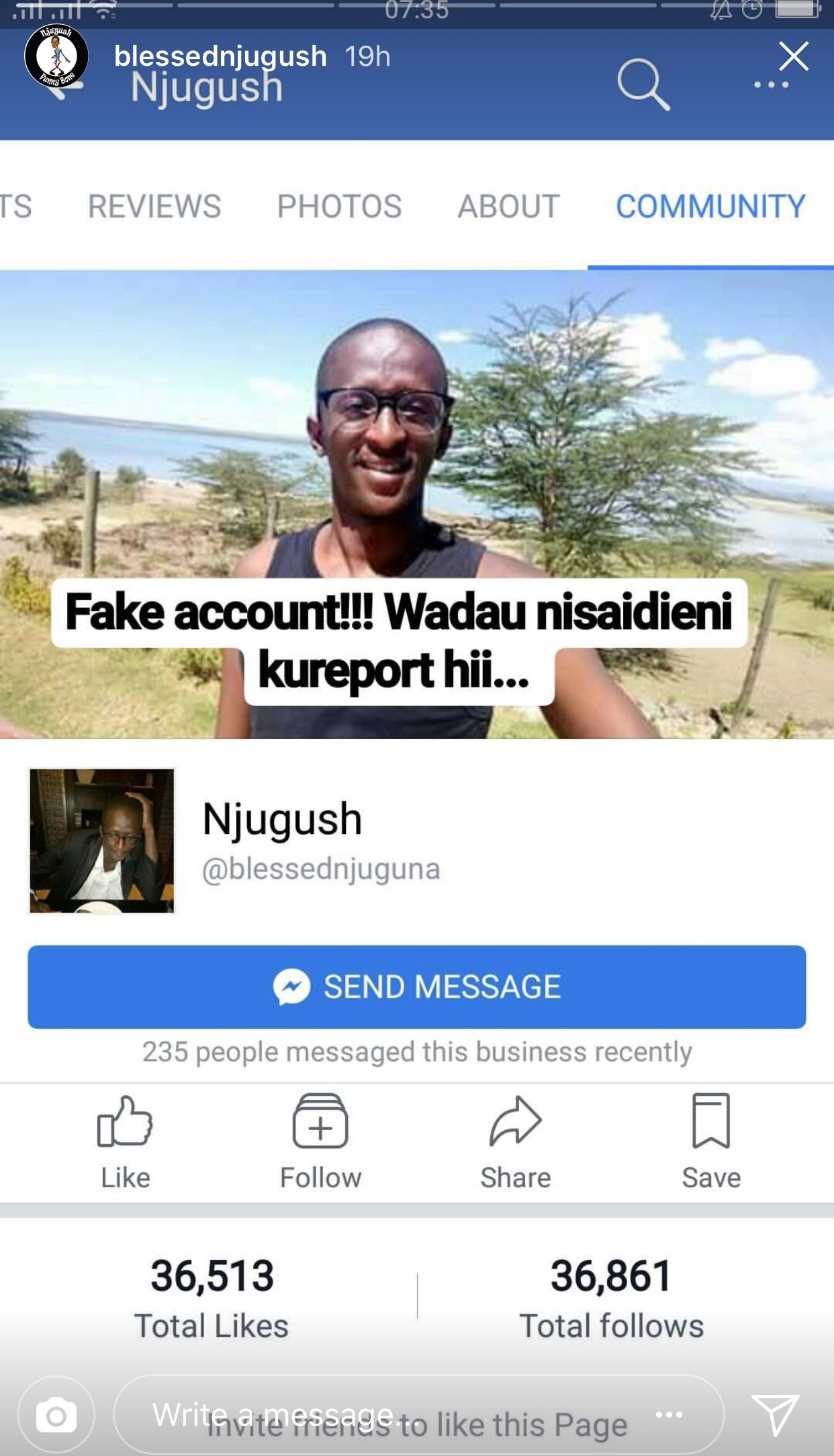 He is fake! Comedian Njugush exposes the person ...