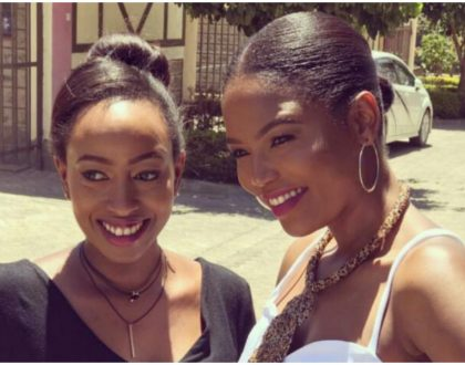 """""""I greatly admire and look up to you"""" Janet Mbugua's sister-in-law Everline Momanyi opens up her heart to her"""