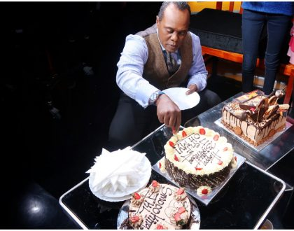 This is how Jeff Koinange's surprise birthday party went down (Photos)