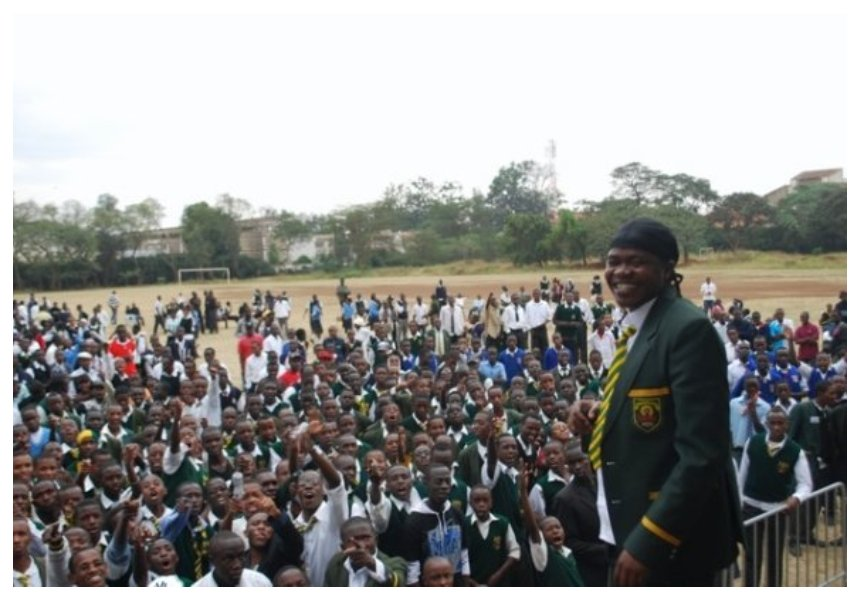Jua Cali sends message to students at his former high school Jamhuri after the unrest that saw students stab each other