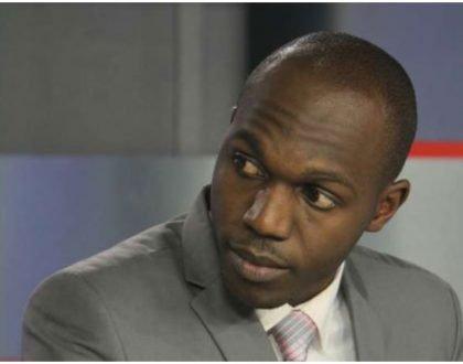 Larry Madowo locks horns with Jubilee MP on Twitter