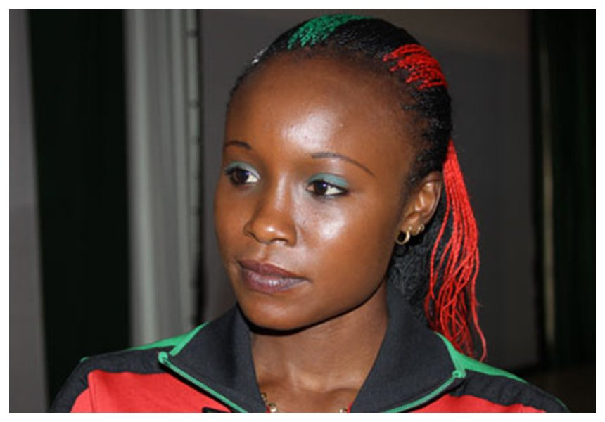 Kenya's hottest female athlete Mercy Cherono heavily pregnant with first child after all the drama last year