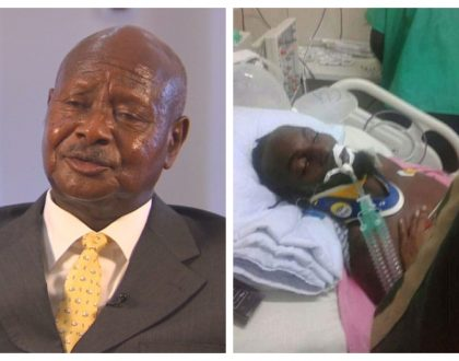 President Museveni contributes 30 million to medical bill of Mowzey Radio who was beaten into a coma