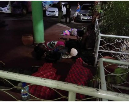 Scenes of women and children spending cold nights on the floor because of NTSA travel ban breaks many hearts (Photos)