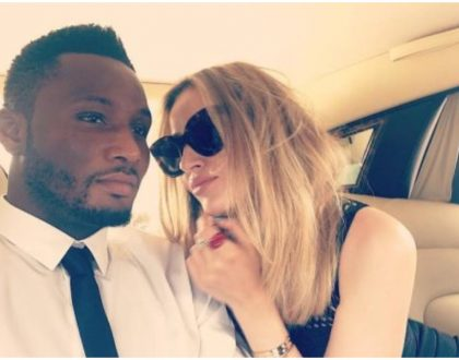 Mzungu wife of Chelsea former player Obi Mikel reacts as critics call for their separation after Eboue's ordeal
