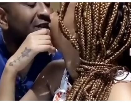 """Nisameheni wote"" Tunda apologizes to the wife of man she was cheating with after romantic video is leaked online"
