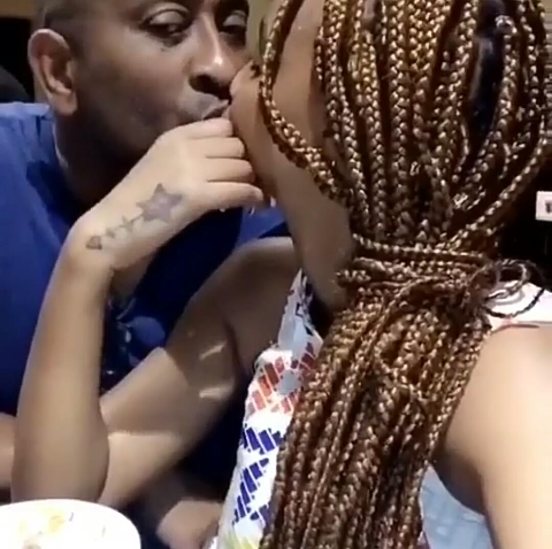 """""""Tunda is just a friend, I love my wife"""" Man spotted kissing and vacationing with Diamond Platnumz side chick opens up!"""