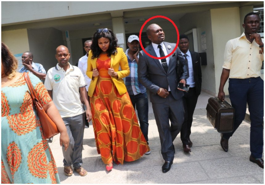 Big blow to Wema Sepetu in her drug case as her lawyer suddenly abandons her