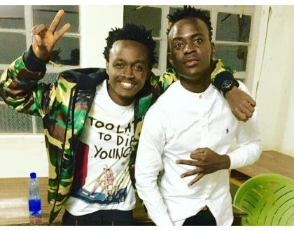 Willy Paul confirms he's going after Bahati with the new project he's about to launch
