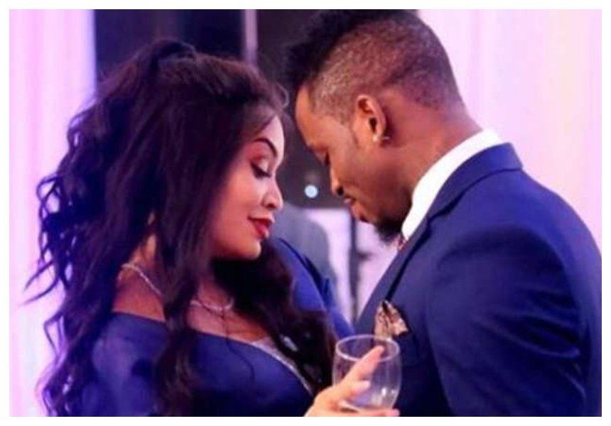 Diamond Platnumz finally starts to break down after Zari left him