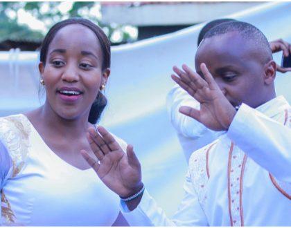 The last celebrity wedding of 2017: K24's Nancy Onyancha weds Job Mwaura (Photos)