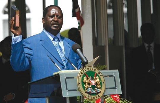 NASA leader Raila Odinga changes his biography on social media, refers to himself the President of Kenya!