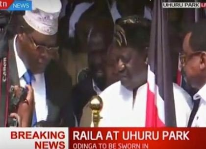Kenyans get creative with the #Railaswearingin Challenge, check out the hilarious photos