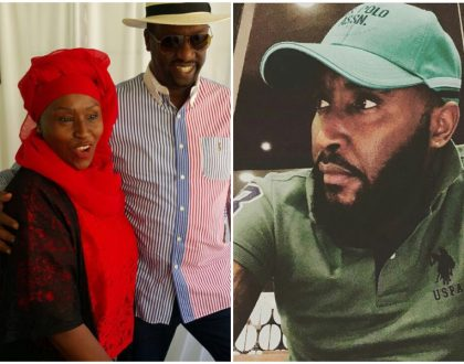"""Raising me was a nightmare yet you still endured it"" Shaffie Weru celebrates his mother in a special way"