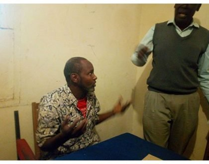 Height of stupidity! Truck driver busted in Kitale lodging at 10am with school girl who was wearing school uniform (Photos)