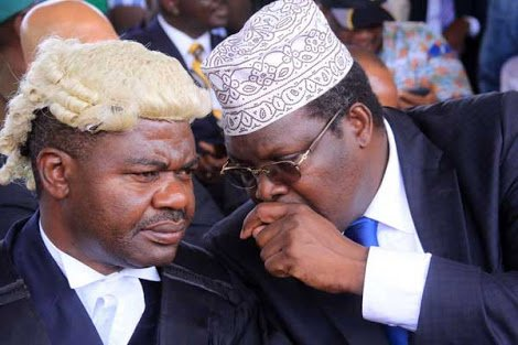TJ Kajwang arraigned in court, charged with consenting to administer oath to NASA leader Raila Odinga