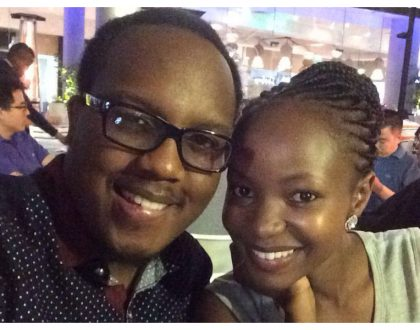 """Ulitravel ndio nisisikie pressure, thank you babe"" Abel Mutua in high spirits as wife relieves him of Valentine's Day expenses"