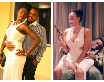 """Our superstar was never dumped by a cougar"" Irate Diamond Platnumz's fans roast Akothee"