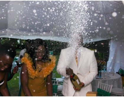 Akothee parts with millions to spoil her younger sister at Villa Rosa Kempinski (Photos)