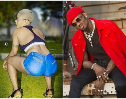 """Wacha tukutunzie bwana"" Amber Rutty brags about warming Zari's matrimonial bed after the breakup with Diamond"