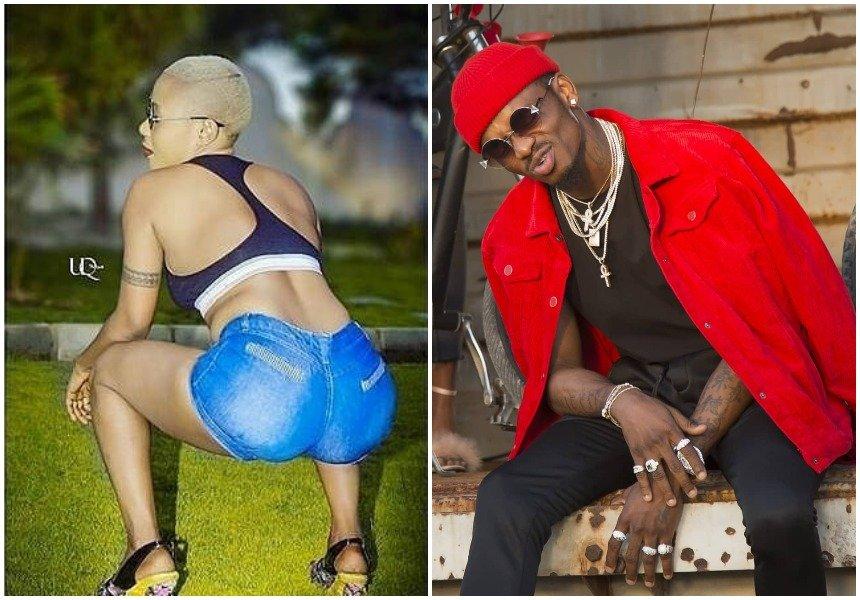 """Wacha tukutunzie bwana"" Amber Rutty brags about warming Zari's matrimonial bed after the breakup with Diamond"