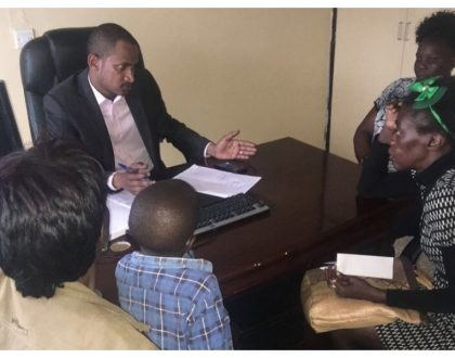 """Refusal to get trained will attract punishment"" Babu Owino threatens to expel unemployed youth from his constituency"