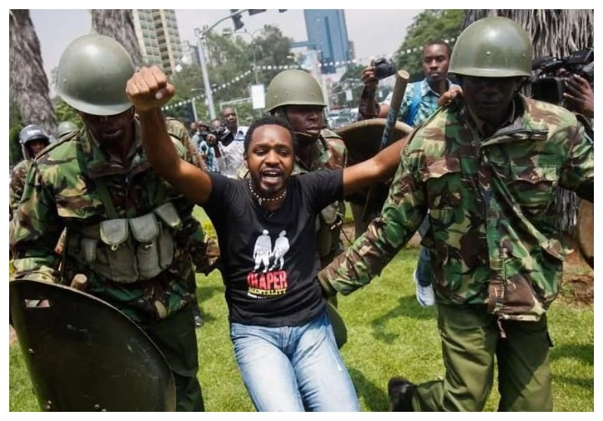"""""""My wife is the fire that keeps me going"""" Boniface Mwangi shows Kenyans his romantic side!"""