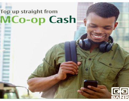Co-op Bank sets trend as it unveils new exciting feature to easily buy airtime using a short code