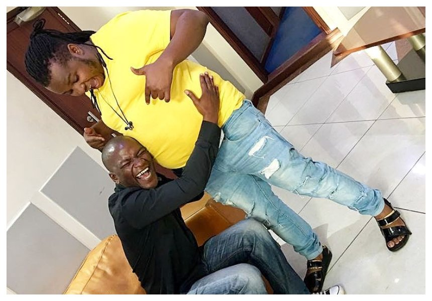 Willis Raburu assists DK Kwenye Beat shed weight after being fat shamed multiple times