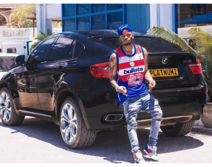 Diamond Platnumz gives his expensive BMW X6 a new look
