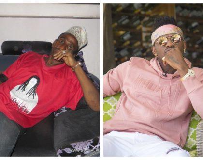 """""""Huyu namsaidia lakini siko ukaribu na yeye kama mamangu"""" Diamond speaks of his deadbeat father"""