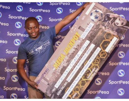 5 things you need to know about Kes 230 million SportPesa mega jackpot winner Gordon Ogada