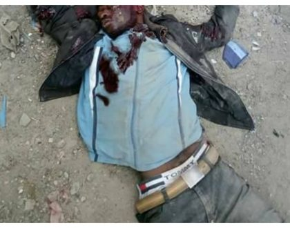 7 gangsters from Kayole die in hail of bullets along the Nakuru-Eldoret highway (Photos)