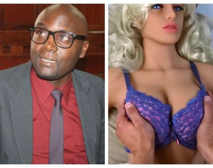 """She's pretty, flat tummy, big boobs"" Atheists president Harrison Mumia falls deeply in love with Samantha"
