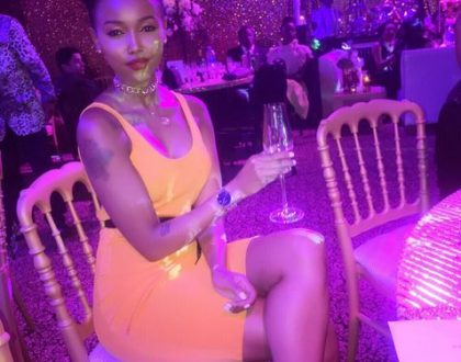 Huddah Monroe shares the last time she was in bed with a man and it's pretty surprising