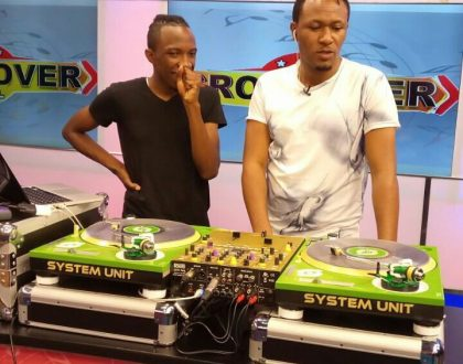 Inspiring; DjBob the soundboy narrates how he rose from being DJ MO's shoe vendor to working as one of his DJ