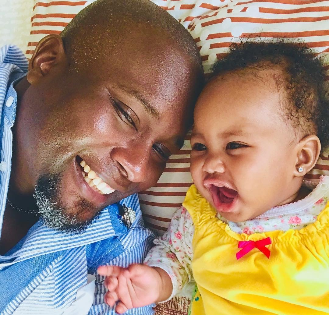 Adorable! Producer Tedd Josiah celebrates his first valentine in the company of his daughter a few months after his wife passed away
