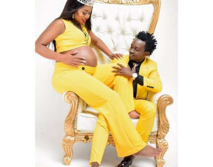 Bahati and his wife welcome a bouncing baby girl