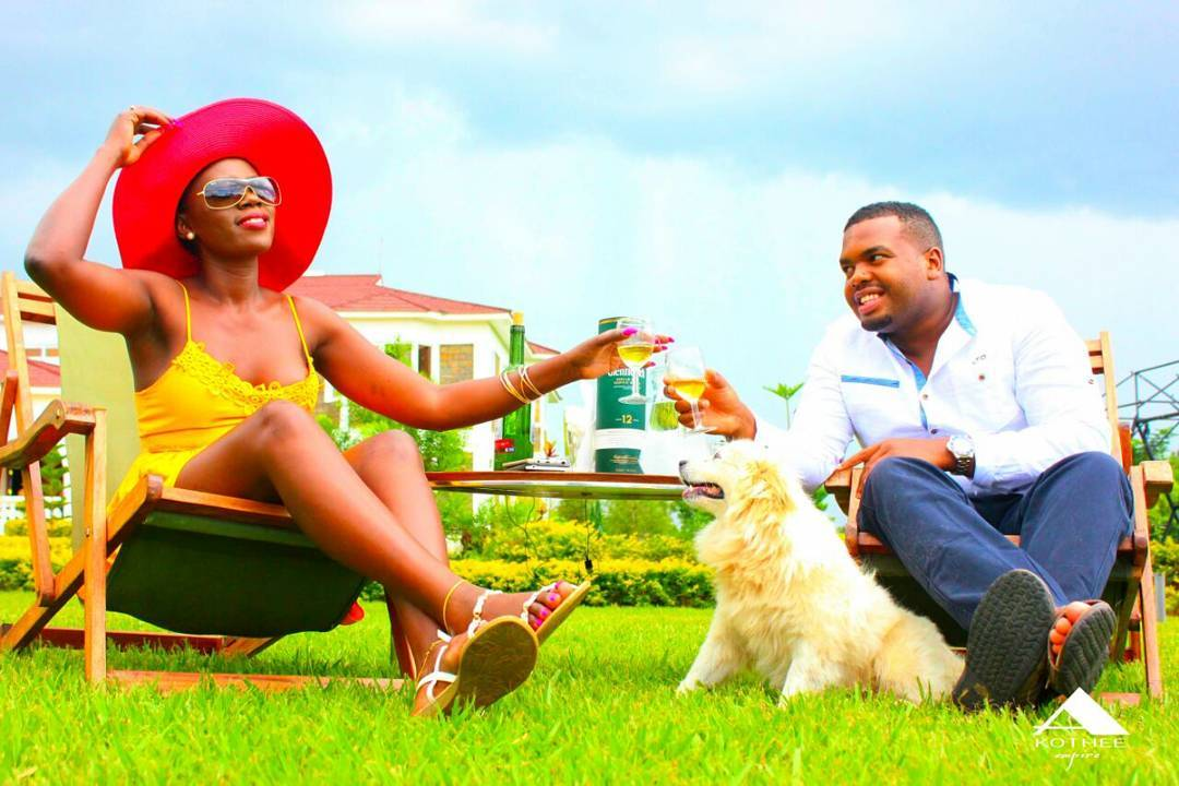 """Love in the air! """"No one can replace you"""" Nelly Oaks tells Akothee"""