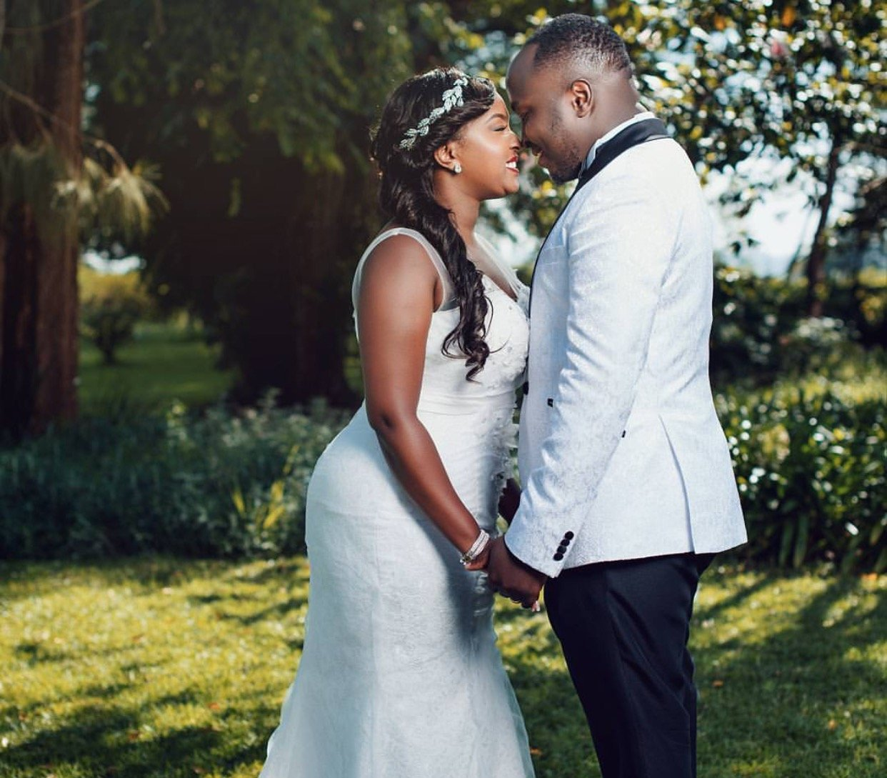 """We avoided having sex for 2 years and a half until our wedding night!"" Cece Sagini and husband open up"