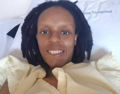 """I have warrior blood in me"" Njambi Koikai finally discharged from hospital"