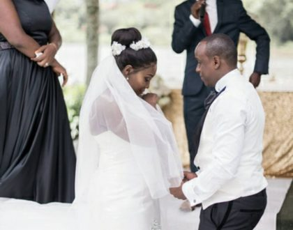 Catherine Kamau breaks down while making this adorable video for her husband's birthday