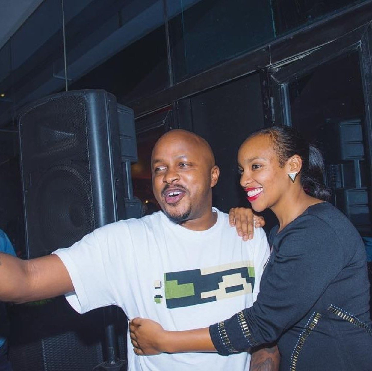 This is the throwback photo of DJ Creme with his wife 11 years ago that proves money can do wonders!